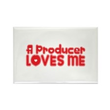 A Producer Loves Me Rectangle Magnet