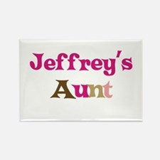 Jeffrey's Aunt Rectangle Magnet