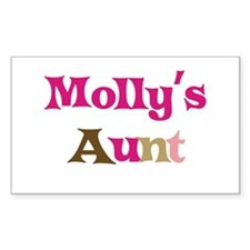 Molly's Aunt Rectangle Decal