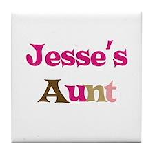 Jesse's Aunt  Tile Coaster
