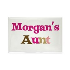 Morgan's Aunt Rectangle Magnet