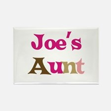 Joe's Aunt Rectangle Magnet