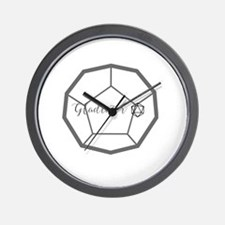 Unique Roleplaying Wall Clock