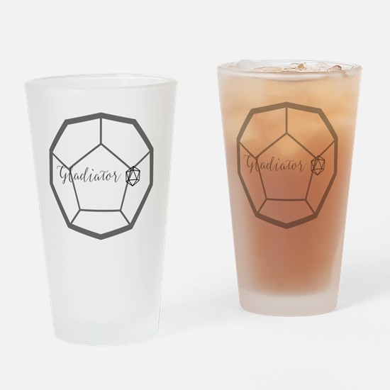 Cute Fantasy roleplaying Drinking Glass
