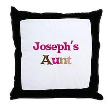 Joseph's Aunt  Throw Pillow