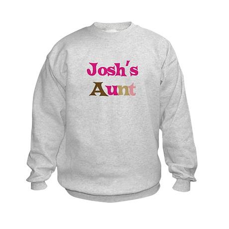 Josh's Aunt Kids Sweatshirt
