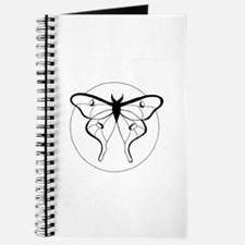 Black & White Luna Moth Journal