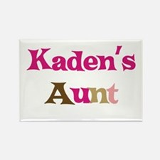 Kaden's Aunt Rectangle Magnet