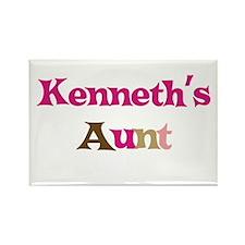Kenneth's Aunt Rectangle Magnet