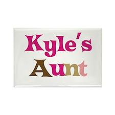 Kyle's Aunt Rectangle Magnet
