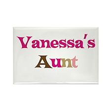 Vanessa's Aunt Rectangle Magnet