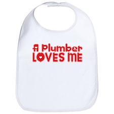 A Plumber Loves Me Bib