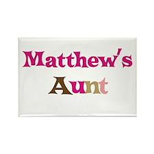 Matthew's Aunt Rectangle Magnet (10 pack)