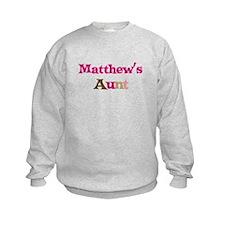 Matthew's Aunt  Sweatshirt