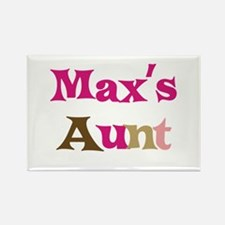 Max's Aunt Rectangle Magnet