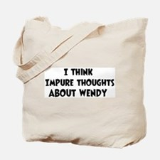 Wendy (impure thoughts} Tote Bag