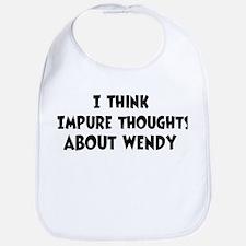 Wendy (impure thoughts} Bib