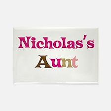 Nicholas's Aunt Rectangle Magnet