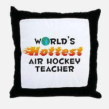World's Hottest Air H.. (C) Throw Pillow