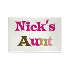Nick's Aunt Rectangle Magnet
