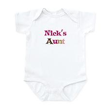 Nick's Aunt Infant Bodysuit