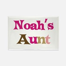 Noah's Aunt Rectangle Magnet