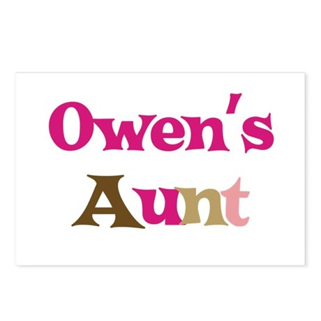 Owen's Aunt Postcards (Package of 8)