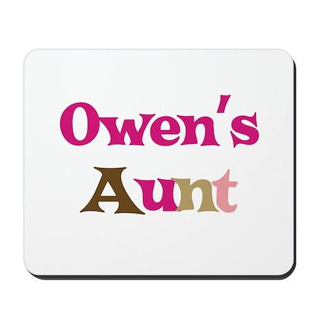 Owen's Aunt Mousepad