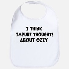 Ozzy (impure thoughts} Bib