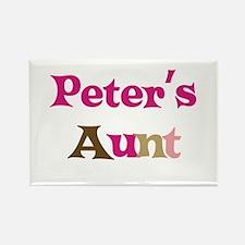 Peter's Aunt Rectangle Magnet