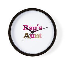 Ray's Aunt  Wall Clock
