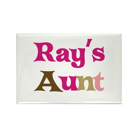Ray's Aunt Rectangle Magnet