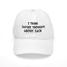 Zack (impure thoughts} Baseball Cap