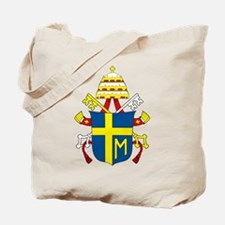 Pope John Paul II Coat of Arm Tote Bag