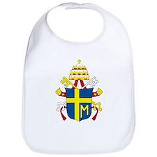Pope John Paul II Coat of Arm Bib
