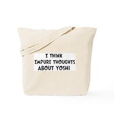 Yoshi (impure thoughts} Tote Bag