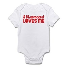 A Pharmacist Loves Me Infant Bodysuit