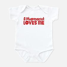 A Pharmacist Loves Me Infant Bodysuit