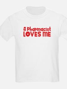 A Pharmacist Loves Me T-Shirt
