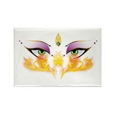 Belly Dance Shimmy Chic Rectangle Magnet