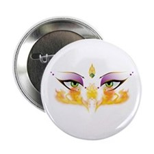 """Belly Dance Shimmy Chic 2.25"""" Button"""