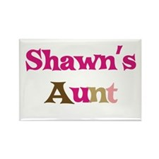 Shawn's Aunt Rectangle Magnet
