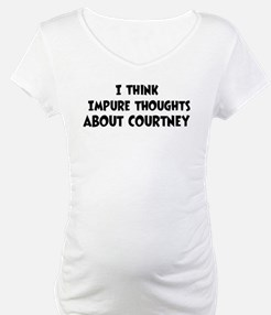 Courtney (impure thoughts} Shirt