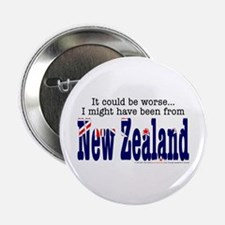 """It Could Be Worse.."" (NZ) Button"