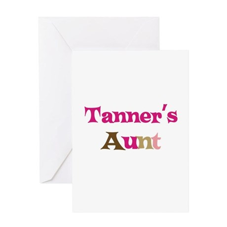 Tanner's Aunt Greeting Card