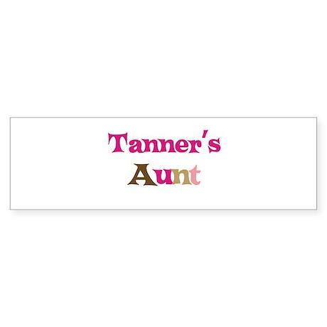 Tanner's Aunt Bumper Sticker