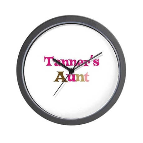 Tanner's Aunt Wall Clock