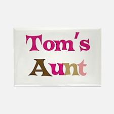 Tom's Aunt Rectangle Magnet