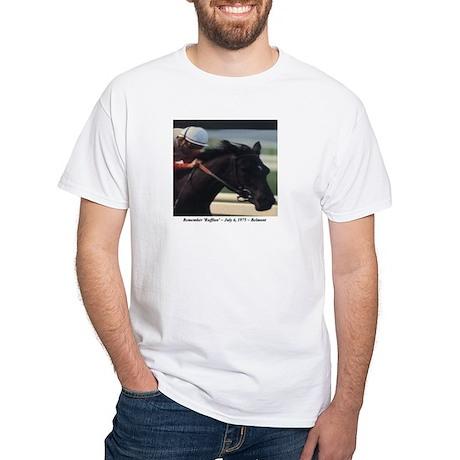 'Remember Ruffian' White T-Shirt