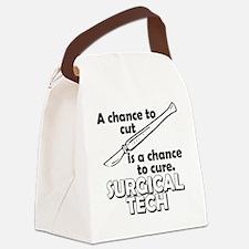 Cute Chance Canvas Lunch Bag